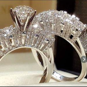 B3G1 Little Something Silver & White Sapphire Ring